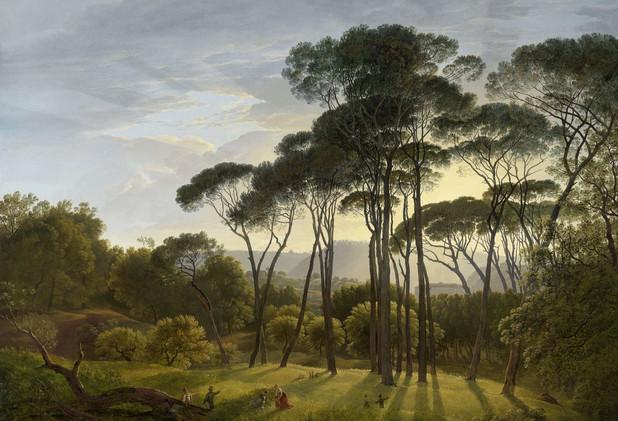 Hendrik Voogds Italiaans Landschap