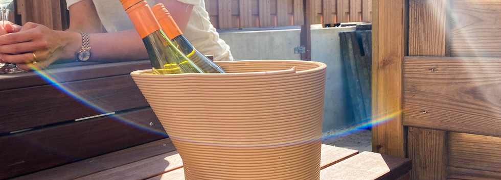 Festicoolr Double beige in de zon