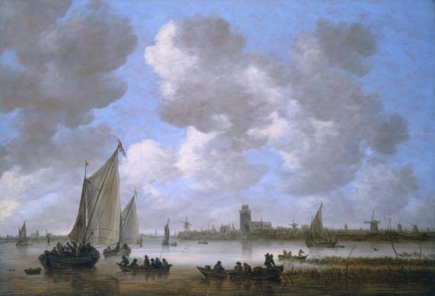 Jan van Goyen's Zicht op Dordrecht