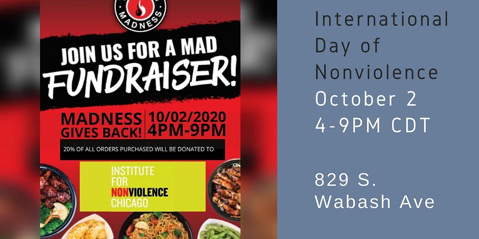 International Day of Nonviolence with Teriyaki Madness