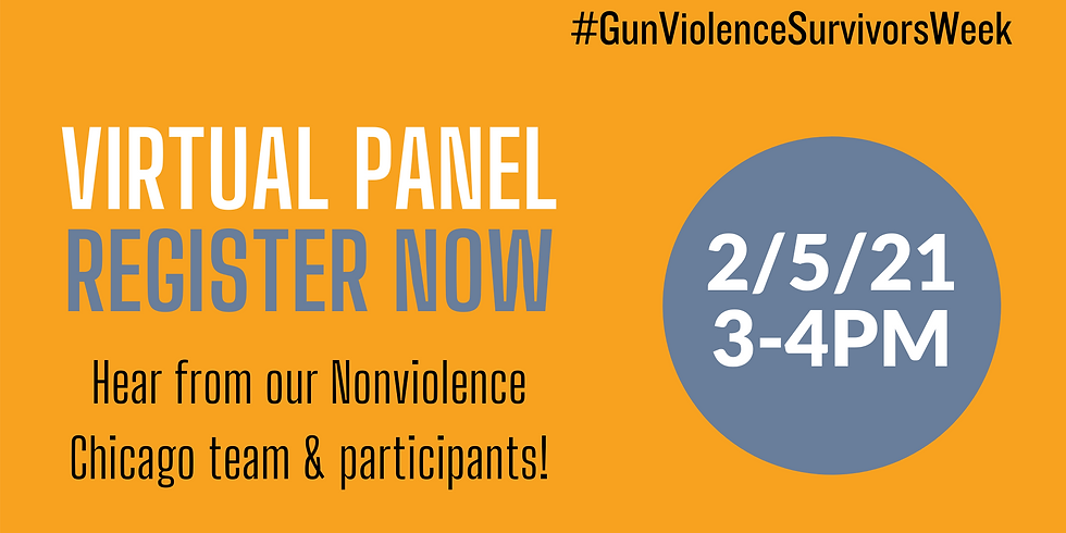 Gun Violence Survivors Panel
