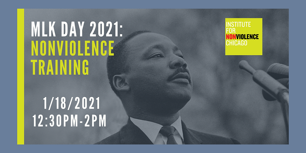MLK Day 2021: Nonviolence Training