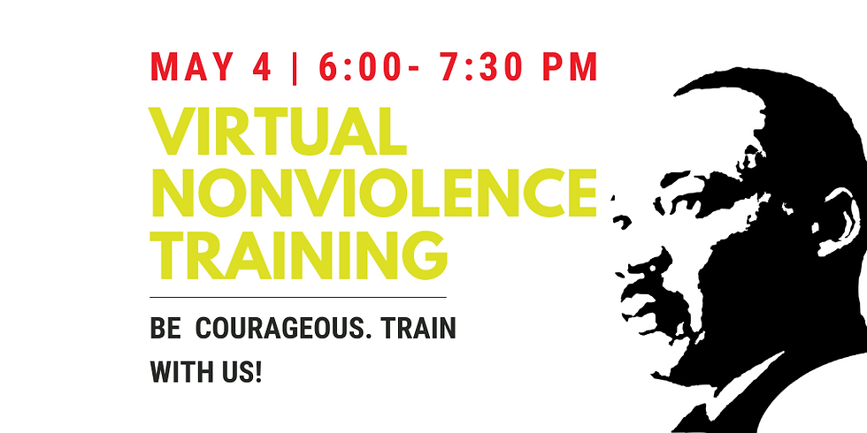 Virtual Nonviolence Training: Building the Beloved Community