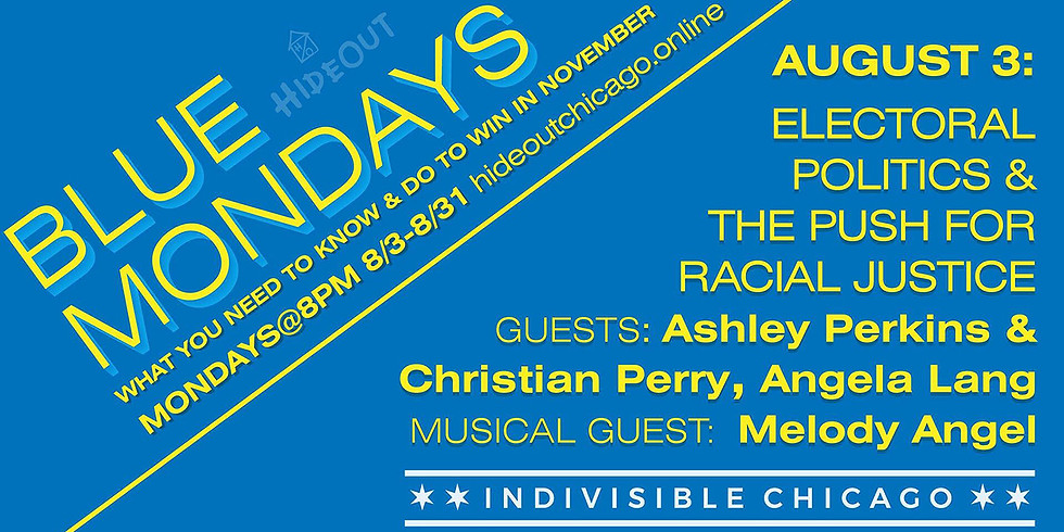 Blue Monday Series with Nonviolence Chicago's Ashley Perkins