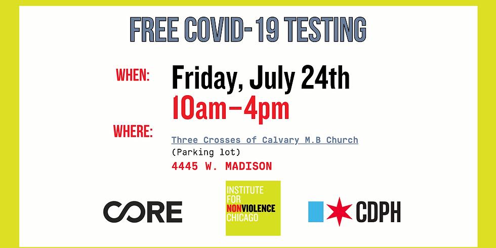 Free COVID-19 Testing!