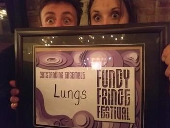 We won the Fundy Fringe Award! - Cart Before the Horse - 2019 (C)