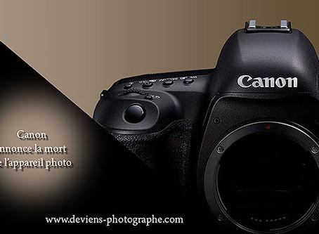 La mort des appareils photo reflex ...