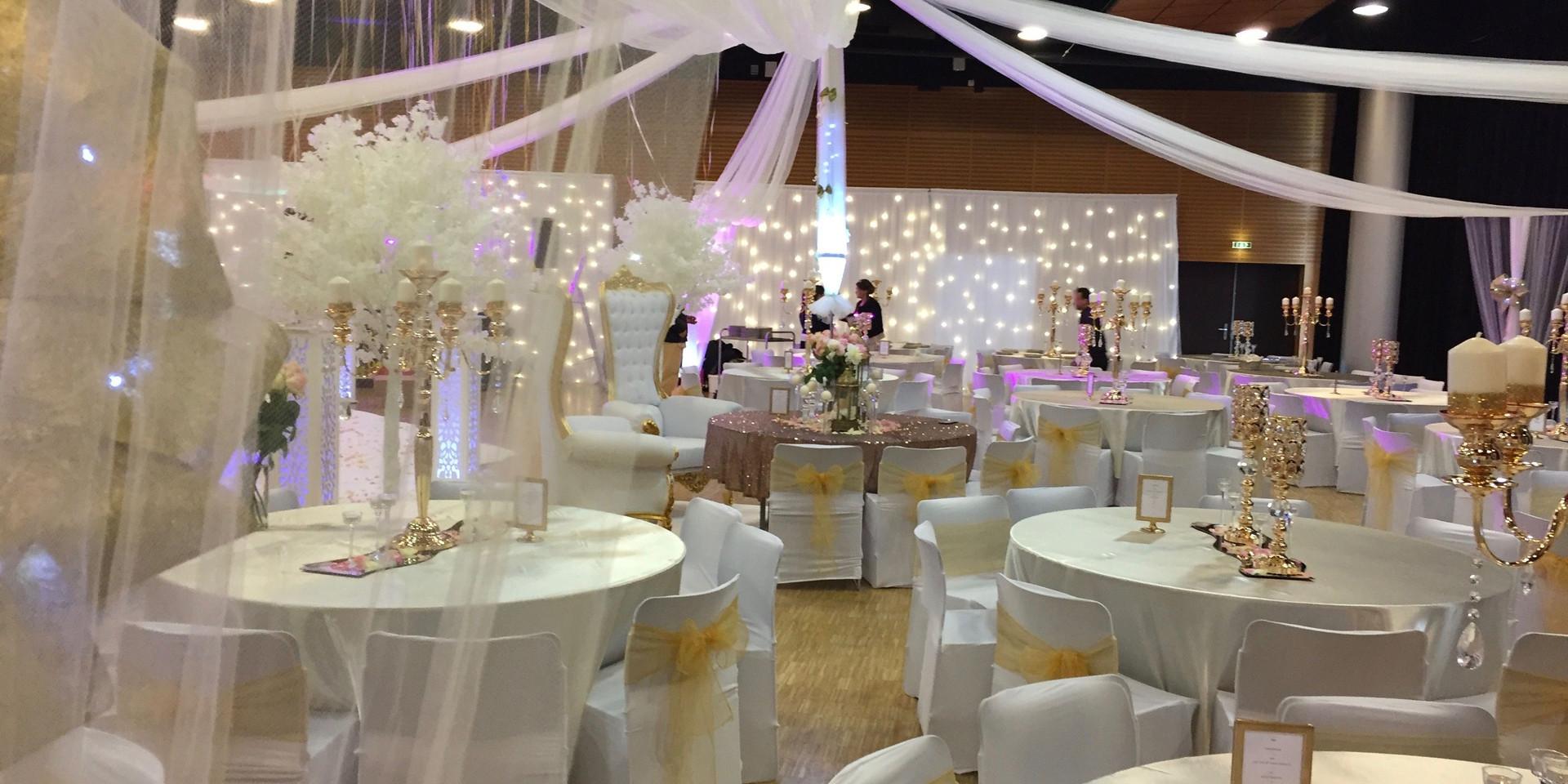 Mariage oriental Ivoire et Or