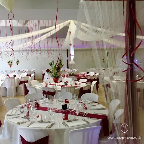 décoration de salle mariage