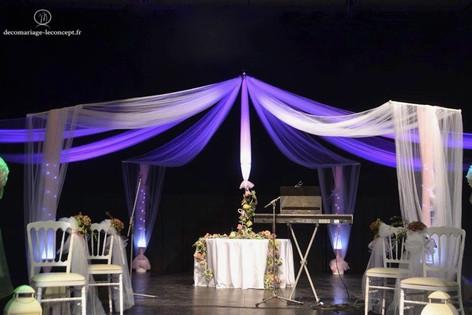 La Gloriette présentée au salon du mariage du Palais du litoral