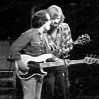 """Here I am with the great Jerry Miller of the 60's band """" Moby Grape"""". Here we are backing up Larry Hosford at Teh Catylist in Santa Cruz California"""