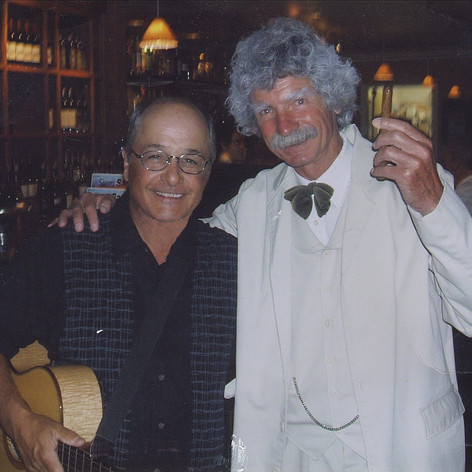 Friend and Actor Macavoy Layne stopped by at Divine Wine to say hello.