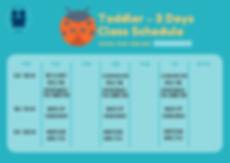 Blue Yellow Simple Calendar Vector Class
