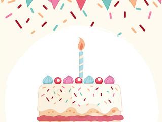 Happy birthday. Happy beginning.