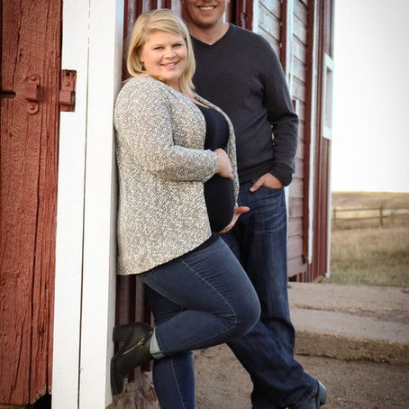 Columbine Open Space Maternity Session