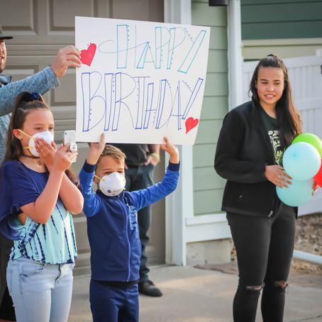 Birthday Celebration Ideas During Quarantine