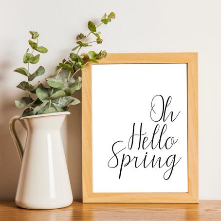 *FREEBIE* Spring Printable