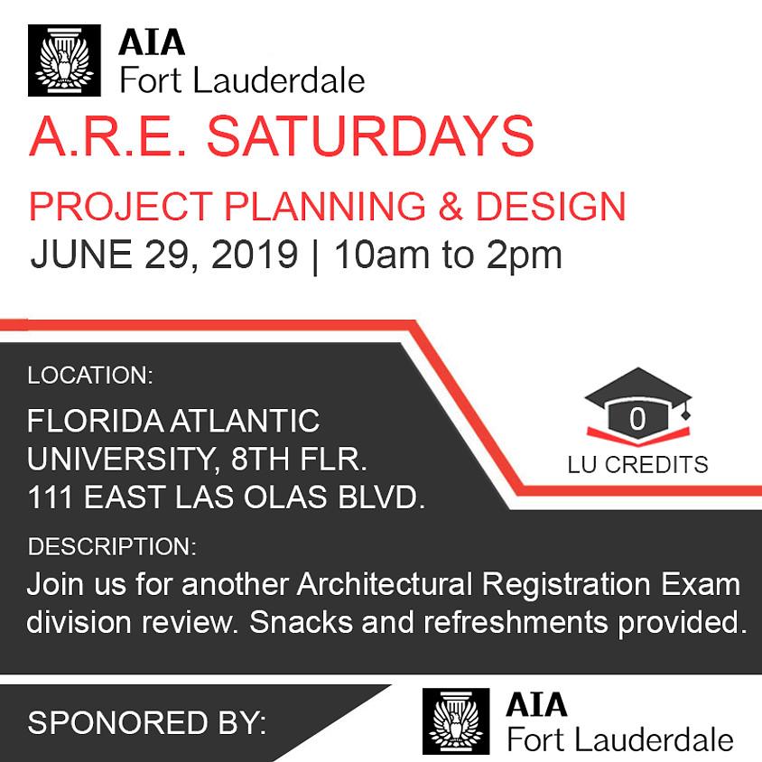A.R.E. 5.0 Project Planning & Design