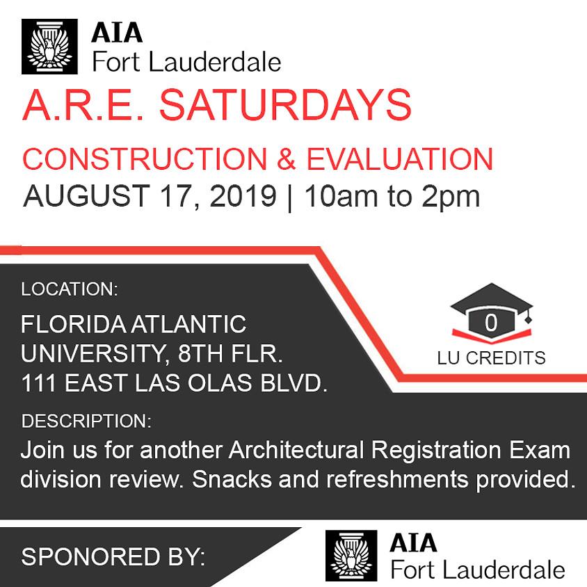 A.R.E. 5.0 Construction & Evaluation