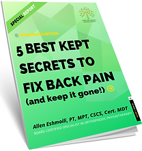 Back Pain Relief Thornhill, ON
