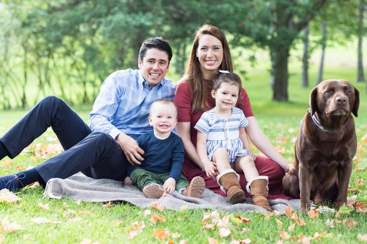 Burns Family: Edina, Minnesota