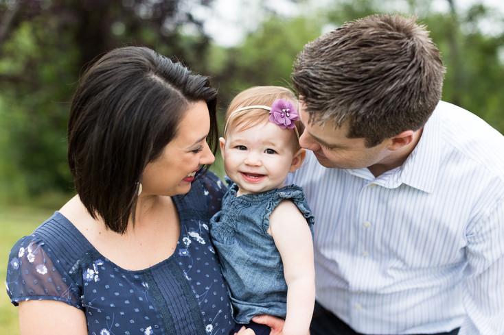 Summer Family Photo, Minneapolis MN