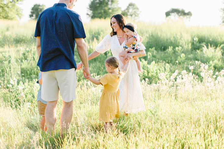Family Golden Hour Session | Chaska, MN