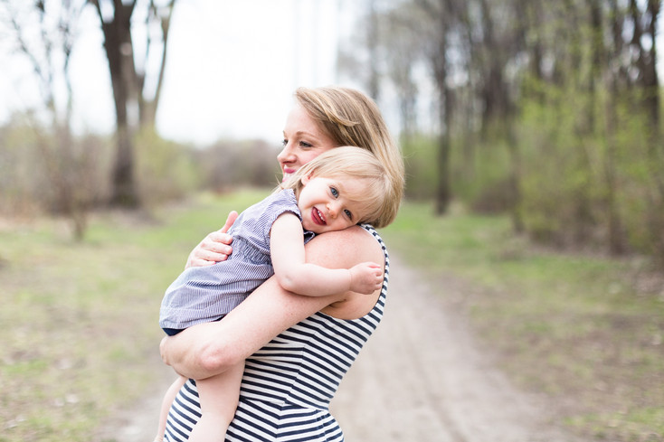 Mother's Day Session - Katie and Charlotte: Minneapolis, MN