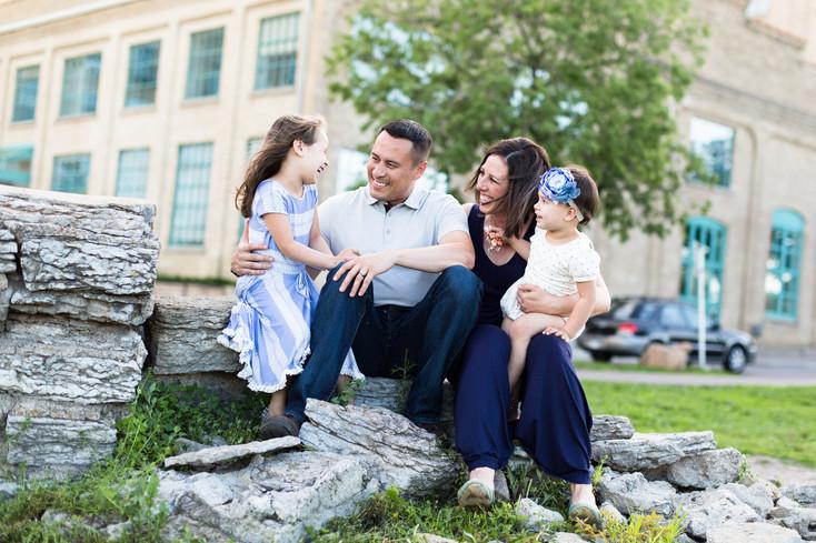 The Daughtery Family: Stone Arch Bridge, Minneapolis