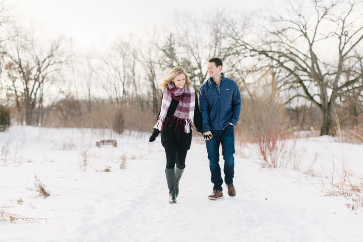 Bryan and Sarah's Engagement Session | St. Anthony, Minnesota