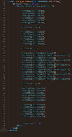AI Spawn Sequence script