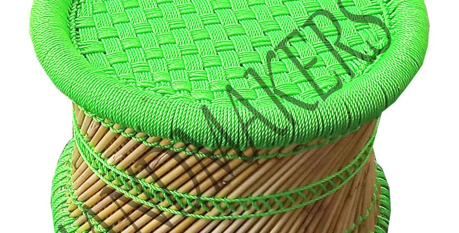 Handmade Green Bamboo Mudda