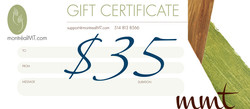 $35 MONTREAL MT GIFT CARD
