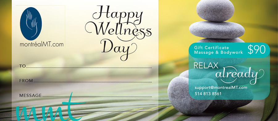 eGift - Workplace Wellness Massage