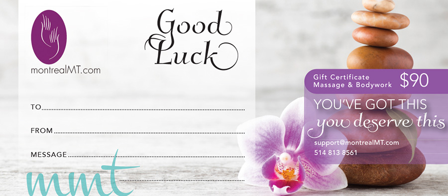eGift - Best Of Luck Massage Gift