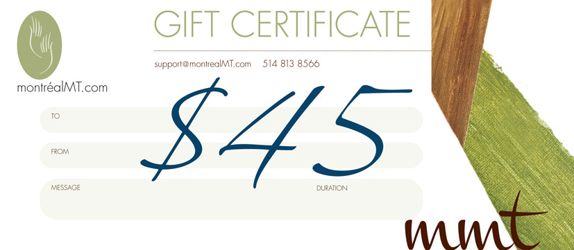 $45 MONTREAL MT GIFT CARD