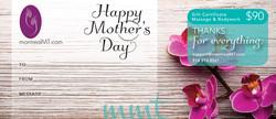 eGift Mother's Day Massage Gift Card