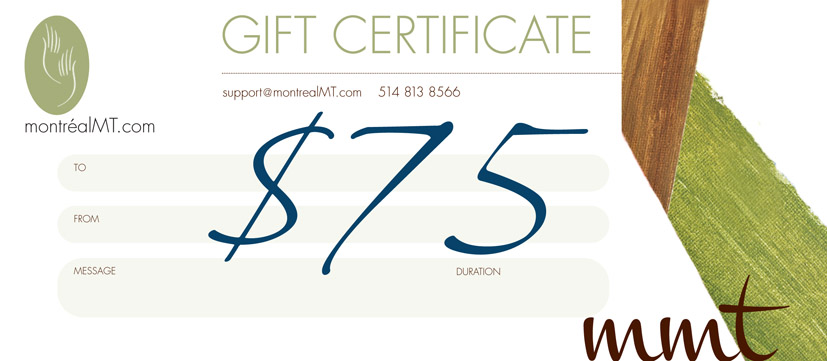 $75 MONTREAL MT GIFT CARD