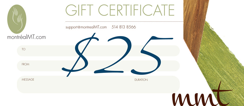 $25 MONTREAL MT GIFT CARD