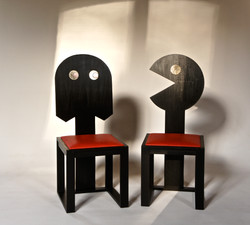 Chaises Pacman
