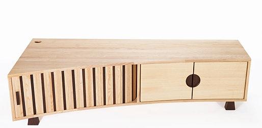eric wilmot cr ateur de mobilier contemporain meuble tv. Black Bedroom Furniture Sets. Home Design Ideas