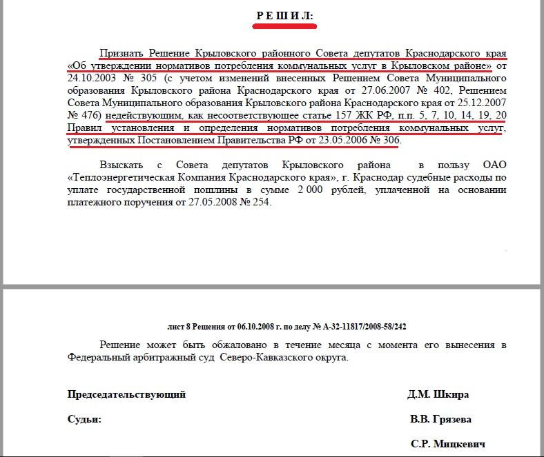 Решение Арбитражного суда Краснодарского края от 06 октября 2008 года по делу №А-32-11817/2008-58/242