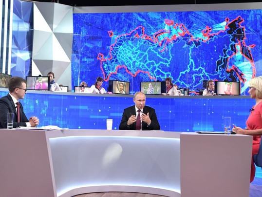 Вопрос на «Прямую линию с Президентом РФ» не является вопросом и отвечать на него не нужно?