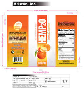 Ariston_HEMP20_500ml_LayFlat_Clementine.