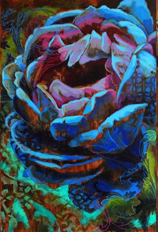 Acrylic Multilayer Painting