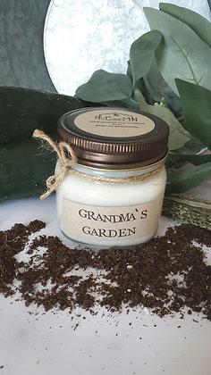 Grandma's Garden Soy Candle