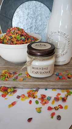 Morning Cartoons Soy Candle