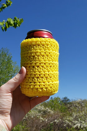 Yellow Can Cooler