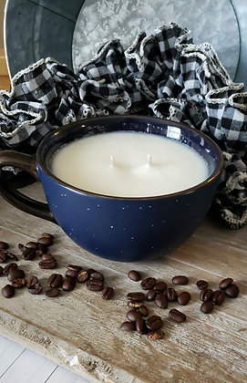 Marshmallow Mocha Coffee Mug Soy Candle