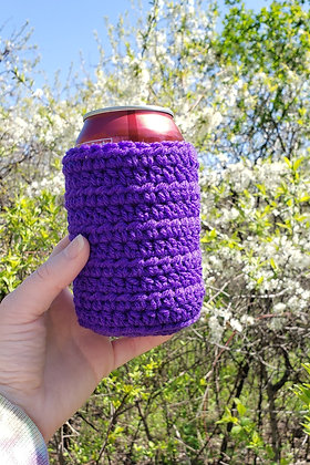 Purple Can Cooler